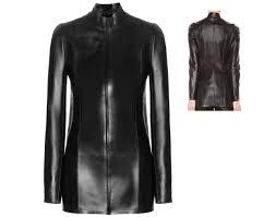 arrow women long leather jacket lamb skin jacket u2013 89797gfr2