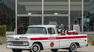 100 Apache Truck For Sale Honda Restored A 1961 Chevrolet Pickup To Commemorate