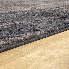 moderner kurzflor teppich mit halbkreis motiv 3d effekt in