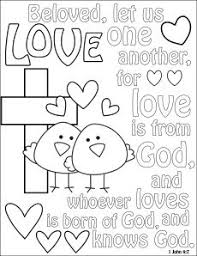 Image Gallery God Is Love Coloring Pages