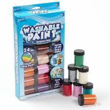 Crayola Bathtub Fingerpaint Soap by Kids Crafts Washable Tempera Paint 24pk By Horizon Group Usa