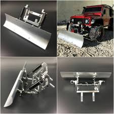 100 Rc Truck Snow Plow Integy Blade Kit Axial SCX10 RC Crawler 110 CNC