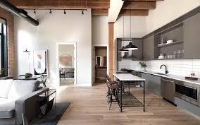 100 Loft Apartment Interior Design Germain House River West S Chicago