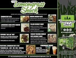 100 Lemongrass Food Truck Menu