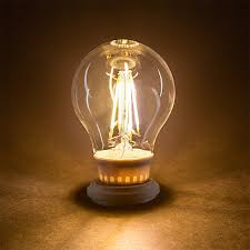 a19 led filament bulb 40 watt equivalent led vintage light bulb