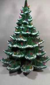 Vintage Atlantic Mold Ceramic Christmas Tree by Vintage Atlantic Mold Ceramic Christmas Tree 3 Tier 21