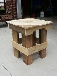 Pallet End Tables