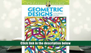 PDF Creative Haven Geometric Designs Collection Coloring Book Adult Trial Ebook