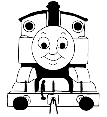 For Thomas Train Clip Art Black And White