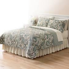 Kohls Chaps Bedding by Home Classics Sarah Paisley Quilt Coordinates