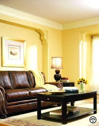 Yellow Gold Paint Color Living Room Mustard Walls