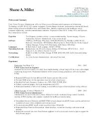 System Administrator Resume Samples 2 3 Windows