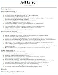 Resume Examples For Restaurant Manager Assistant Sample Objectives
