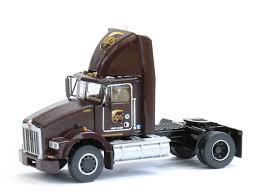 100 Toy Kenworth Trucks 2axle UPS T800 Truck 0106