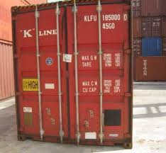 Used 40 Feet High Cube WWT Steel Shipping Containers For Sale