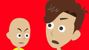 Caillou In The Bathtub Goanimate by Caillou Grounds Boris Youtube