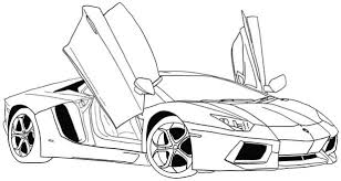 Adult Coloring Pages Sports Cars Free Printable And Trucks For Crayola Giant 2