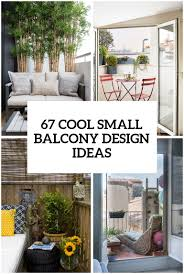 100 Home Dizayn Photos 67 Cool Small Balcony Design Ideas DigsDigs
