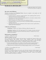 Travel Nurse Resume Sample Nursing Template Cv