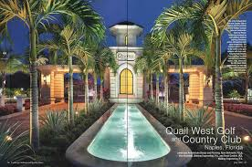 Current Project Quail West Entry Lighting Naples FL