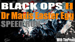 black ops 2 zombies die rise dr maxis easter egg speed run