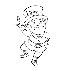 Full Size Of Coloring Pageextraordinary Leprechaun Sheets Pages 24 For Free Book With