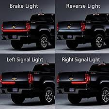 winblink 60 inch auto tailgate light bar led