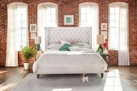 Value City Furniture Tufted Headboard by Mandarin Upholstered Bed Value City Furniture Apartment Living
