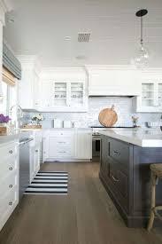 Contemporary Kitchen Backsplash Beach House Dining Room White Tile Best Ideas