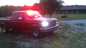 100 1995 Ford Truck F150 Fire POV Lights YouTube