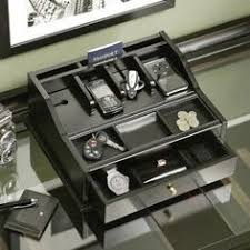 men s dresser valet jewelry charging station organizer desks
