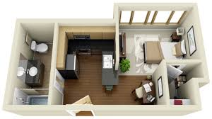Luxury Student Housing at Blue Square Apartments USU Housing