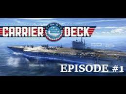 jeux de porte avion carrier deck 1