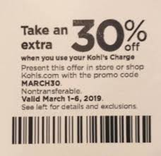 KOHLS 30% OFF COUPONS CODE PLUS FREE SHIPPING MARCH 2019 ... Starts March 2nd If Anyone Has A 30 Off Kohls Coupon Perpay Promo Coupon Code 2019 Beoutdoors Discount Nurses Week Discounts Ny Mcdonalds Coupons For Today Off Code With Charge Card Plus Free Event Home Facebook Coupons And Insider Secrets How To Office 365 Home Print Store Deals Codes November Njoy Shop Online Canada Free Shipping Does Dollar General Take Printable Homeaway September 13th 23rd If
