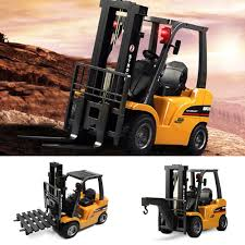 100 Truck Crane HUINA 1577 2in1 RC Car Forklift RTR 24GHz 8CH360