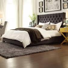 Wayfair Headboards King Size by Bedroom Fabulous Grey Upholstered King Bed Wicker Headboards