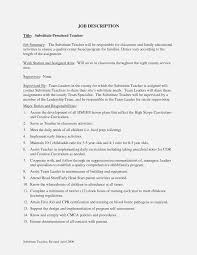 Substitute Teacher Job Description For Resume Job Description For ... 25 Professional Substitute Teacher Resume Job Description Awesome Rponsibilities For Atclgrain Example Cover Letter Company Profile Sample Rrumes For Teachers With New No Music Template Cv Maintenance Samples Velvet Jobs Perfect 25886 Writing Tips Genius Education Entry Level Valid Examples Inspiring Image