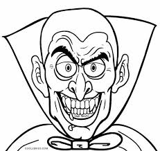 Printable Vampire Coloring Pages For Kids
