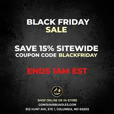 BLACK FRIDAY SALE 🔥 Save 15% SITEWIDE... - CoMo Hair ...