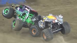 100 Monster Truck Show San Diego Jam RACING 12117 YouTube Monstercar