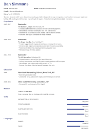 Bartender Resume: Sample & Complete Guide [+20 Examples] Waiter Resume Sample Fresh Doc Bartender Template Waitress Lead On Cmtsonabelorg 25 New Rumes Samples Free Templates Visualcv Valid Bartenders 30 Professional Example Picture Popular Waitress Bartender Rumes Nadipalmexco 18 Best 910 Bartenders Resume Samples Oriellionscom Examples 49 12 2019 Pdf Word