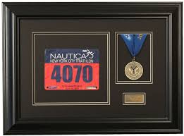 Race Photo And Finishing Medal Display Frame