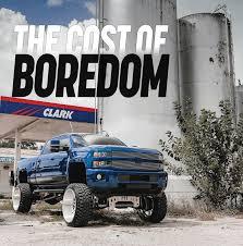 100 High Trucks THE COST OF BOREDOM Sky 2016 Chevrolet 2500 Street