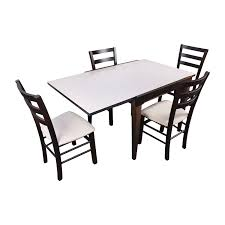 Macys Outdoor Dining Sets by 82 Off Macy U0027s Macy U0027s Cafe Latte Five Piece Extendable Dining