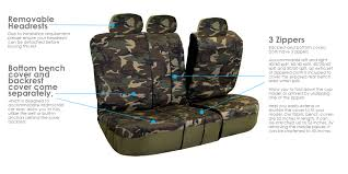 100 Camo Floor Mats For Trucks Uflage Print Seat Covers W Black EBay