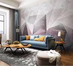 helle tapete im wohnzimmer foto eines echten interieurs mit