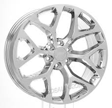 100 Chevy Truck Wheels For Sale 22 Inch Chrome Snowflake For Silverado Tahoe Suburban