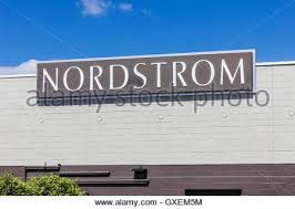 A Nordstrom Rack clothing retail store in downtown Seattle Stock