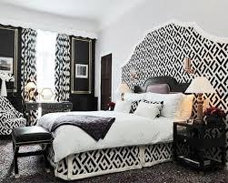 Black And White Bedroom Interior Design