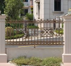 Decorative Garden Fence Panels by Latest Modern Cast Aluminum Fence Decorative Metal Garden Fence